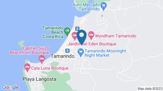 Jet Luxury at Langosta BeachResortVillas Map