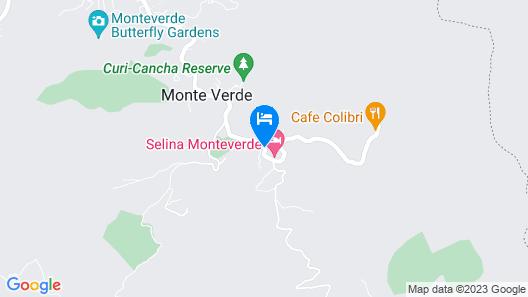 Hotel Fonda Vela Map