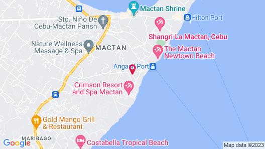 La Mirada Hotel Map