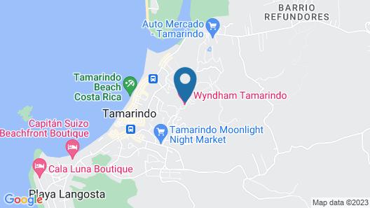 Wyndham Tamarindo Map
