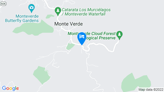 Hospedaje Mariposa Map