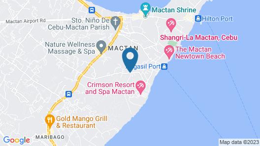 Crimson Resort and Spa Mactan Map