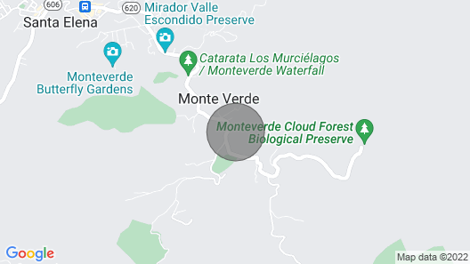 Perfect House for Friends and Family in Monteverde Map