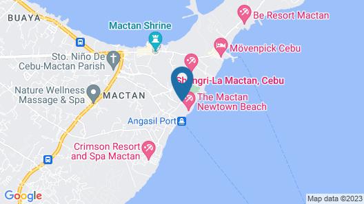 Mactan Newtown with Ocean View Map