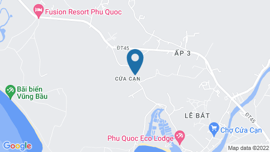 Phu Quoc EcoLodge Map