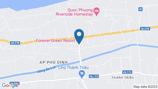 Forever Green Resort Map