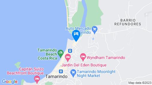 Best Western Tamarindo Vista Villas Map