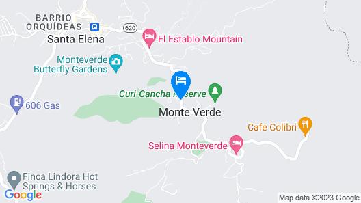 Villa Yerbabuena Map