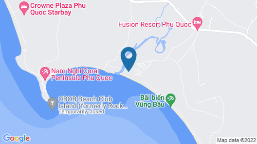 Fusion Resort Phu Quoc Map