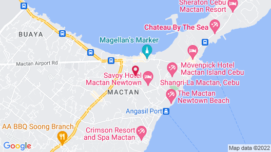 CSuites at 8 Newtown Residences Map