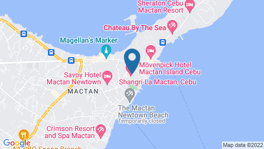 Shangri-La Mactan, Cebu Map