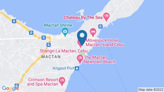 Shangri-La's Mactan Resort & Spa Map