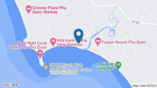 Wild Beach Phu Quoc Resort Map