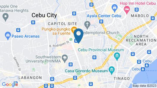 ABC Hotel Cebu Map