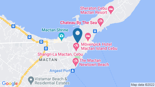 Chateau By The Sea Map