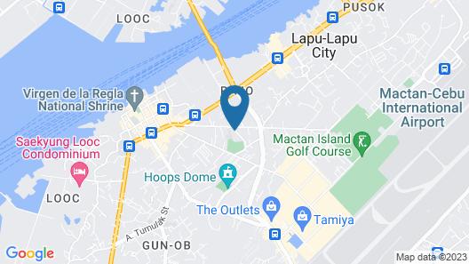 Express Inn - Mactan Hotel Map