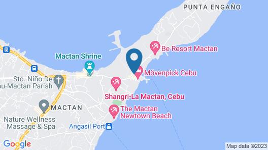 Mövenpick Hotel Mactan Island Cebu Map