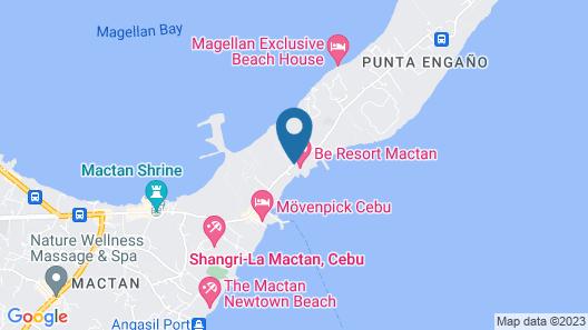 Be Resorts - Mactan Map