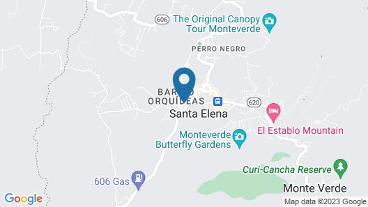 Camino Verde Bed & Breakfast Map