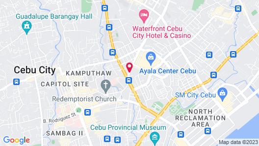 Hotel Elizabeth Cebu Map
