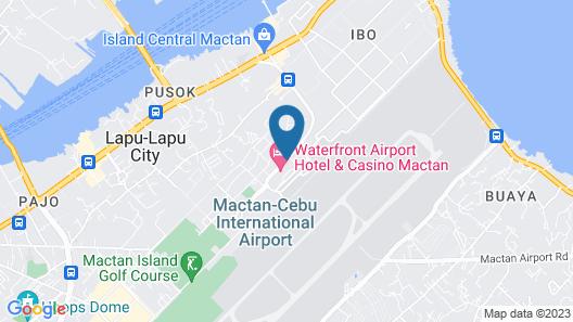 Waterfront Airport Hotel & Casino Map
