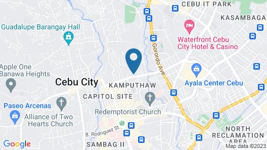 Cebu Grand Hotel Map