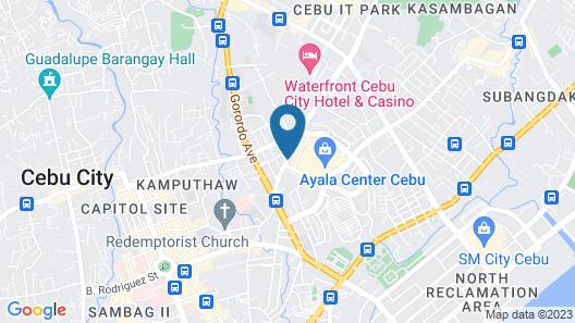 Red Planet Cebu Map