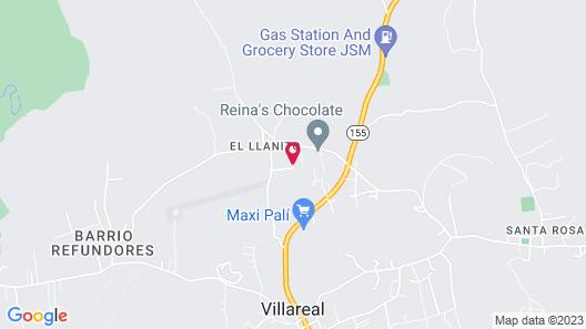 Casa Baula Map