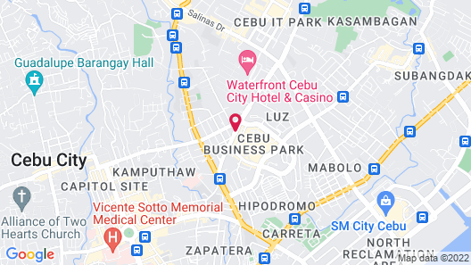 Quest Serviced Residences Map