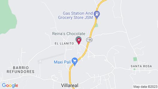Chocolate Hostel Map