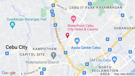 Quest Hotel & Conference Center – Cebu Map