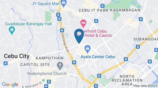 Mandarin Plaza Hotel Map