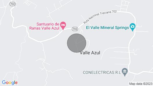 The Jungle House, Valle Azul, La Fortuna Map