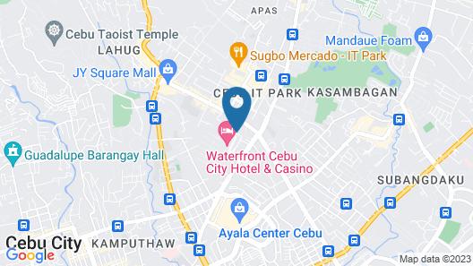 Waterfront Cebu City Hotel & Casino Map