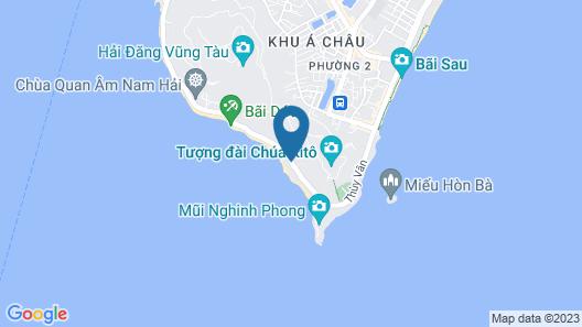 Lan Rung Resort & Spa Vung Tau Map