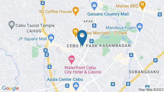 Seda Central Bloc Cebu Map