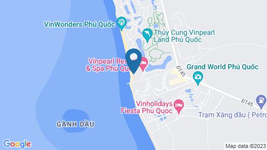 Vinpearl Resort & Golf Phu Quoc Map