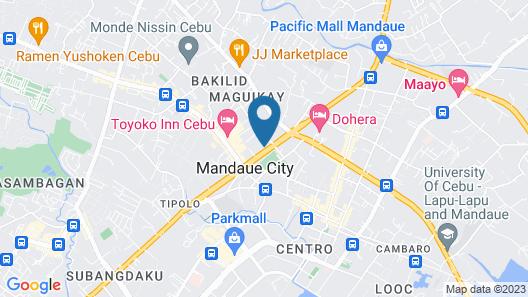 RedDoorz @ Highway Mandaue Map