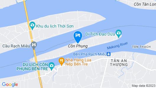 S'Bungalow Ben Tre Map