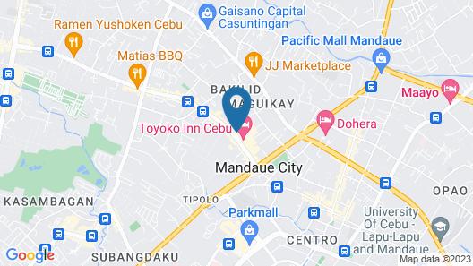 Toyoko Inn Cebu Map
