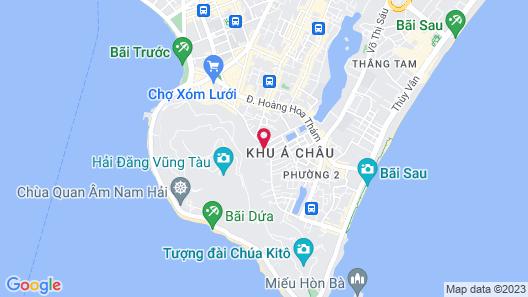 The Wind Hotel - All Spa Inclusive Map