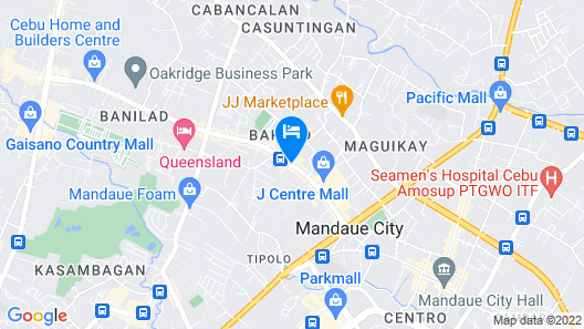 The Orchard Cebu Hotel & Suites Map