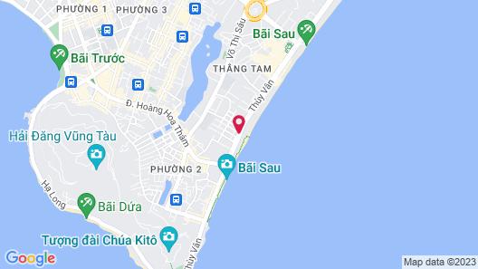 Green Hotel Map