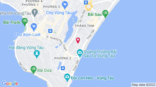 Minh Dang Hotel Map