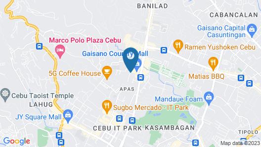 Montebello Villa Hotel Map