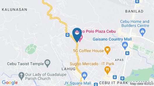 Marco Polo Plaza Cebu Map