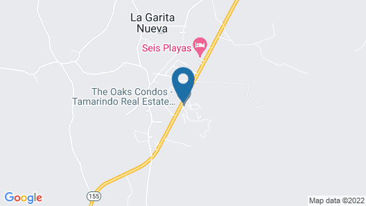 The Oaks Tamarindo Condominiums Map