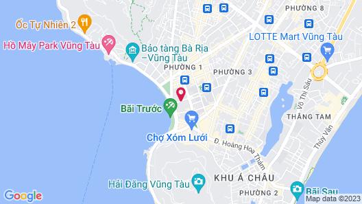 Muong Thanh Vung Tau Hotel Map