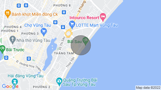 The Most Exclusive & Comfortable Beach Front Condo in Vung Tau Map