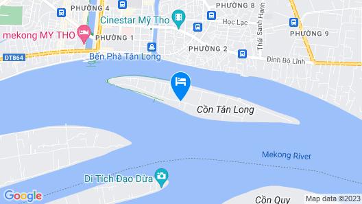 Island Homestay Map